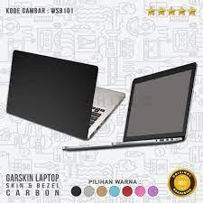Garskin/Skin/Cover/Stiker/Sticker Laptop-Garskin Skin Bezel Carbon SPECIAL
