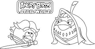 Angry Birds Star Wars Coloring Pages Kids N Fun Com 7 Of