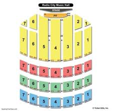 Radio City Music Hall New York Seating Chart Radio City Music Hall Seating Chart Radio City Music Hall