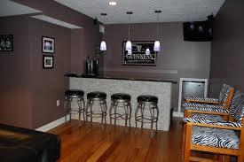 basement remodel to modern sports bar contemporary basement basement sports bar ideas