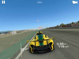 real racing 3 on the app