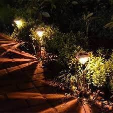 vova outdoor led path lamp solar power night lights flower home garden fence light yard lawn decoration diamond gift outdoor led path lights41