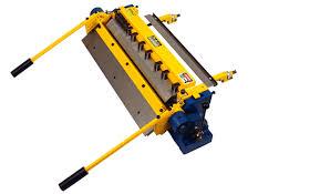 sheet metal finger brake. machinery values, inc. - 16ga thickness 24\u0027\u0027 width diacro 24 finger brake, made in usa (ref no: 148569) sheet metal finger brake x