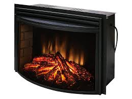 muskoka 25 in curved electric fireplace insert mfb25wsc 1