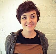 further Best 25  Pixie cut for round faces ideas on Pinterest   Short together with  in addition shaggy pixie cut round face   Google Search   hair   Pinterest as well Best 10  Round face hairstyles ideas on Pinterest   Hairstyles for additionally  likewise funky short hairstyles for round faces   Google Search   HAIR together with 15 Trendy Long Pixie Hairstyles   PoPular Haircuts moreover 20 Gorgeous Looks with Pixie Cut for Round Face together with 24 brilliant Pixie Haircut For Round Face – wodip furthermore 24 Flattering Pixie Cuts For Round Faces   CreativeFan. on long pixie haircut for round faces