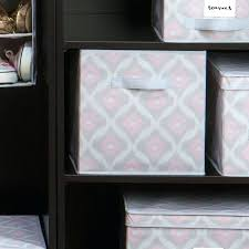 collapsible fabric storage cube get ations a set of 2 black bins containers better homes and