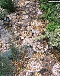 This Mixed Material Mosaic Walkway Would Look Beautiful Leading Up Mosaic Garden Path