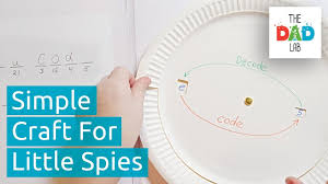 How To Make Simple Secret Decoder For Kids Youtube