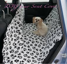 diy dog car seat cover