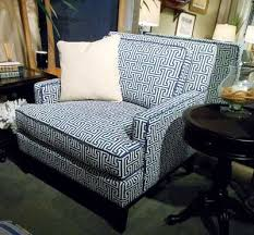blue and white chair. The Classic Blue-and-white Color Combination Is Defined By Contrast Welt In Libby Blue And White Chair E