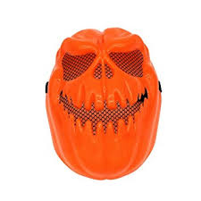 Decorative Face Masks Amazon Tinksky Creepy Pumpkin Mask Halloween Decorative Face 99