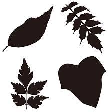 アイコン素材 植物のシルエット はっぱ 02 無料イラスト素材素材ラボ