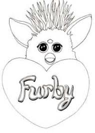 Furby Kleurplaten