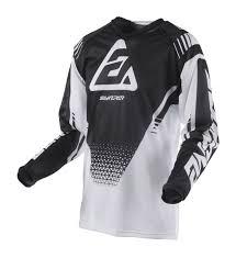 Answer Motocross Jersey 2019 Syncron Air Drift White Black