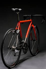 kish fabrication titanium cyclocross sl titanium cross frame with custom paint by spectrum powderworks