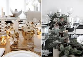 Modern Christmas Table Decorations Billingsblessingbags Org