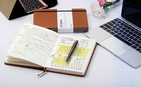 Amazon Com Dotted Bullet Grid Journal Lemome A5 Hardcover Dot