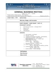 Meet And Greet Meeting Agenda Tbyr April 2010 Meeting Agenda