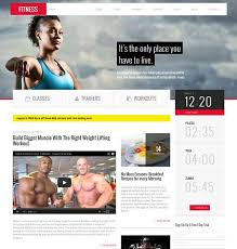 gym website design 211 best website design inspirations for gyms images on pinterest