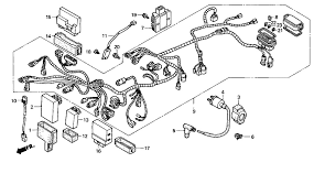 2007 honda rancher 420 parts diagram various information and 2002 honda fourtrax foreman 450 es trx450fe wire harness parts best oem diagram for 2002