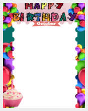 free happy birthday template birthday template 351 free word pdf psd eps ai vector