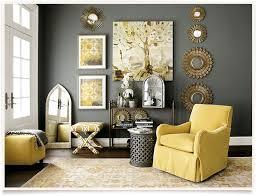 Ballard Designs grey and yellow pretty pallette - Home Accessories Finds  For Spring - from Karen Davis Design