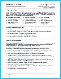 Mechanic Resume Convincing Design And Layout For Aircraft Mechanic Resume 93