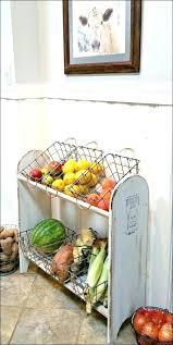 kitchen storage ideas homemade best on countertop vegetable cabinet
