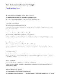 23 business letter format free to