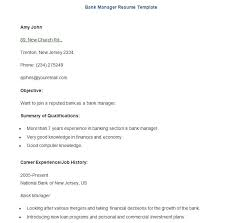 19+ Sample Banking Resume Templates - Pdf, Doc | Free & Premium ...