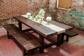 Hampton Farmhouse Dining Room Table  Farmhouse Dining Rooms - Diy rustic dining room table