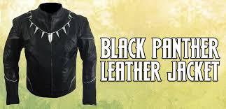 supreme black panther jacket from civil war captain america