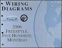 ford five hundred service manuals shop owner maintenance and 2006 style 500 montego wiring diagram manual original