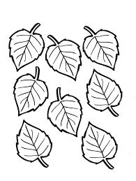 Small Picture Download Coloring Pages Coloring Pages Autumn Leaves Free