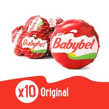 mini babybel snack cheese original 10 ct 7 5 oz