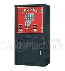 How To Change The Price On A Vending Machine Interesting Buy Floor Model Dual Bill Changer Change Dispenser Vending