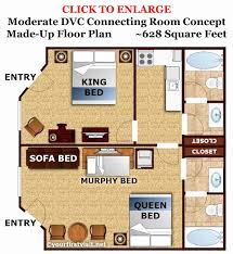 disney beach club villas floor plan beautiful 100