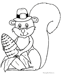 Small Picture Happy Thanksgiving Coloring Pages 002