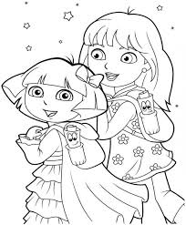dora the explorer thanksgiving coloring pages cute dora the explorer thanksgiving coloring pages 8 pics of