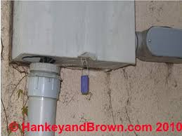 sources of moisture intrusion and corrosion in residential service conduit pulled out of meter box by soil compaction c 2010 hankeyandbrown