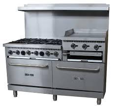 stove 24 inch. black diamond bdgr-6024gb/ng - 60 inch range w/(6) stove 24