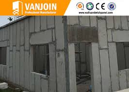 100mm anti earthquake precast concrete wall panels lightweight concrete panels