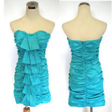 Details About Nwt Hailey Logan 90 Turquoise Juniors Prom Dress 5
