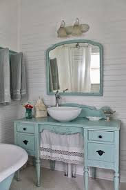 shabby chic bathroom lighting. every room in this quaint little cottage is a shabbychic dream u2013 take shabby chic bathroom lighting w