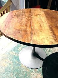 48 round wood pedestal table round wood table top inch superb high custom glass tops in