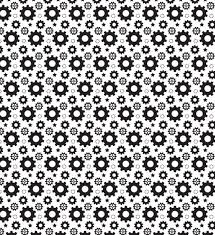Gear Pattern Impressive Simple Gear Seamless Pattern Vector Free Download
