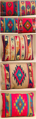 Small Picture The colorful designs of Zapotec southwestern pillows makes them