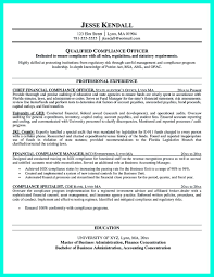 Office Compliance Officer Resume