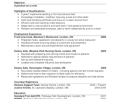 Fast Food Worker Resume Fast Food Resumeonderful Template Restaurant Sample Objective 47