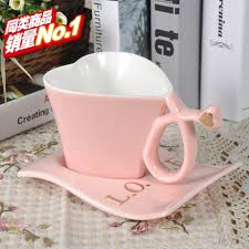 coffee cups with coffee love.  Coffee Aliexpresscom  Buy Creative Love Shape Mugs Of Coffee Mug Cup Milk  Spoon Valentine Gift Cups With Base From Reliable Phone Suppliers On  Inside Coffee Cups With Love V